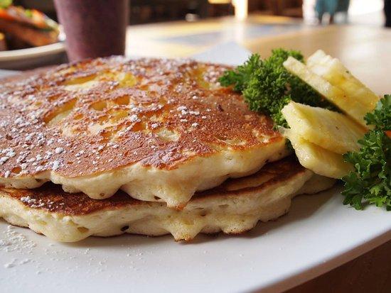 Poway, CA: Pineapple Pancakes