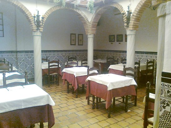 Pozoblanco, Spanje: comedor interior