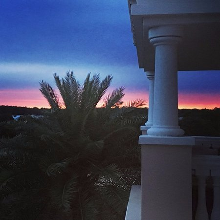 Reunion Resort, A Salamander Golf & Spa Resort: Beautiful sunset!