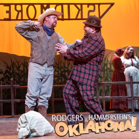 Oklahoma! 2017 Produced by The Little Theatre of Manchester. Photo by Chris Huestis