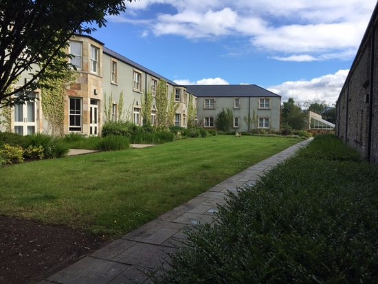 Lough Eske Castle, a Solis Hotel & Spa: Our rooms were off the back of the castle in this area