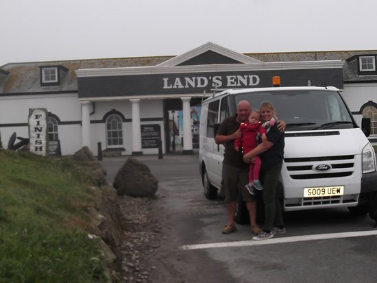 Land's End, UK: We made it.........