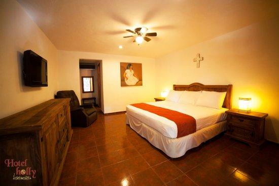 Hotel Holly: Habitación Estándar con 1 confortable cama king size.