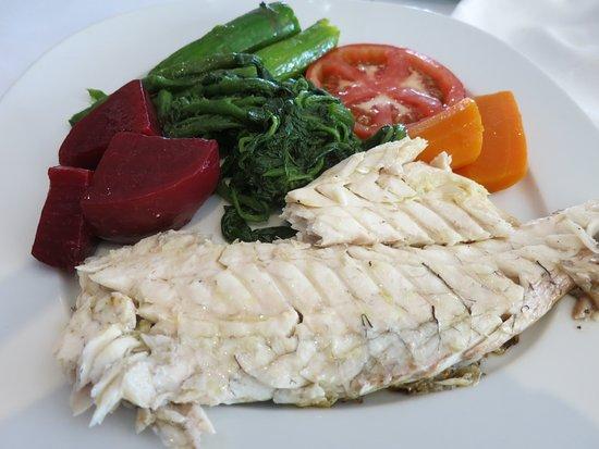 Bouillabaisse : grilled fish