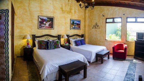 Hotel Casa del Parque: Habitacion Doble Vista al Volcan