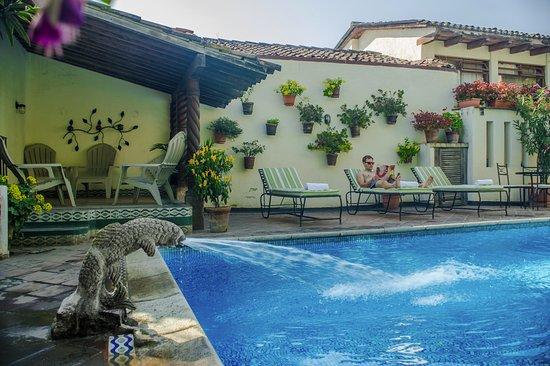 Hotel Casa del Parque: Piscina
