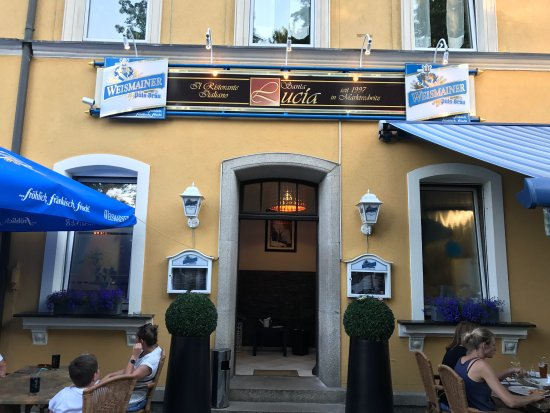 Marktredwitz, Tyskland: Ristorante Pizzeria Santa Lucia