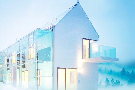 Sankt Margen, Almanya: kunsthaus im Winter