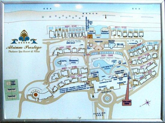 Atrium Prestige Thalasso Spa Resort and Villas: Atrium Prestige - Plan