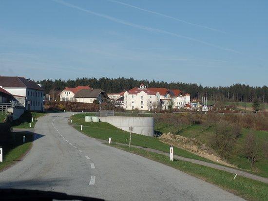 Afiesl, Austria: Anfahrt zum Hotel