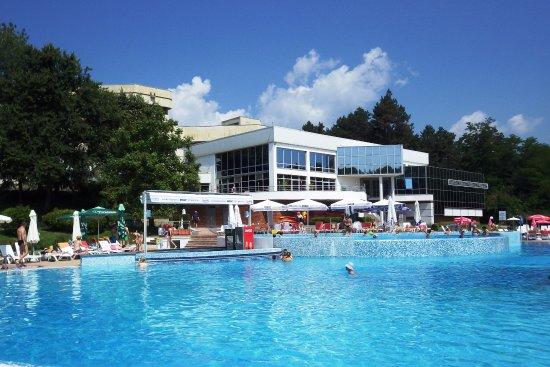 Хисар, Болгария: Открытые минеральные бассейны