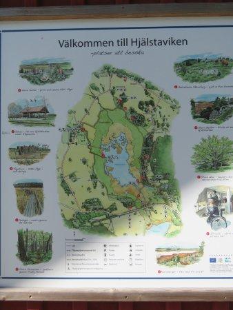 naturreservat uppsala karta Karta över Hjälstaviken   Picture of Hjalstaviken Naturreservat  naturreservat uppsala karta