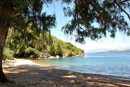 Kalami, Greece: Пляж Хухулио