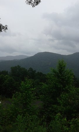 Clyde, NC: A view of the mountains