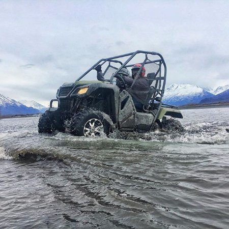 Palmer, AK: coming out of deep water