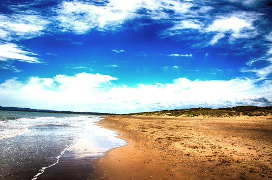 Camber Sands: SAND SEA AND SKY