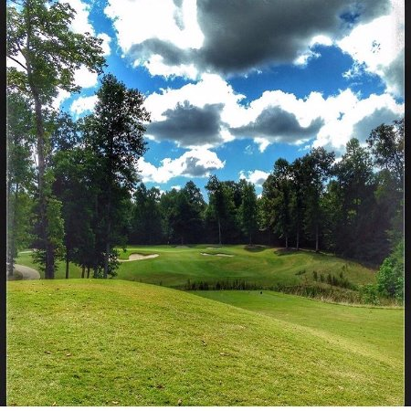 New Kent, VA: View of the green on our par 3 12th hole