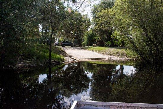 Arcadia, FL: Coming into dock
