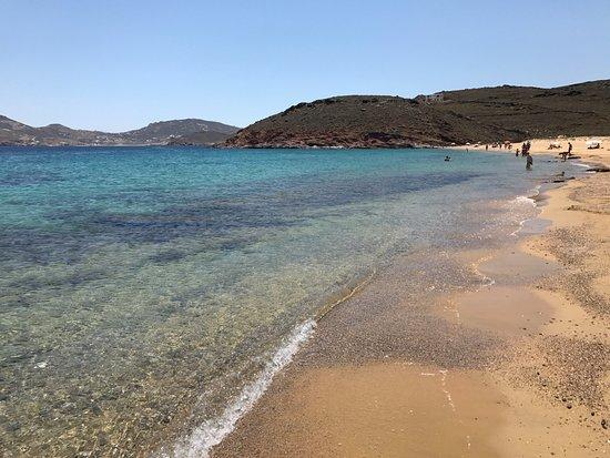 Agios Sostis Beach: Praia
