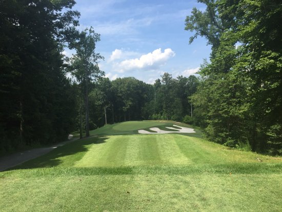 New Kent, VA: View of the green on our par 3 16th hole