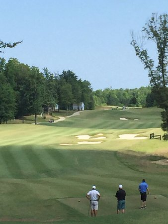 New Kent, VA: View of our par 5 1st hole from the tee box