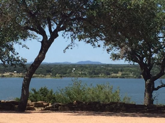 Burnet, TX: View from sunset point.
