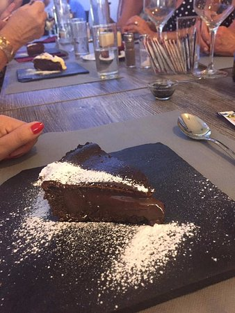 Fuente Alamo, Spain: Chocolate oreo tart!