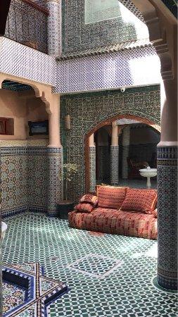Riad Hamza : Innenhof