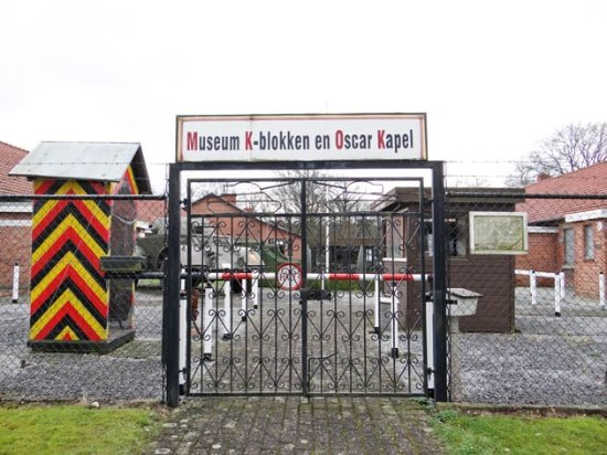 Leopoldsburg, Belgium: the entrance of the museum complex