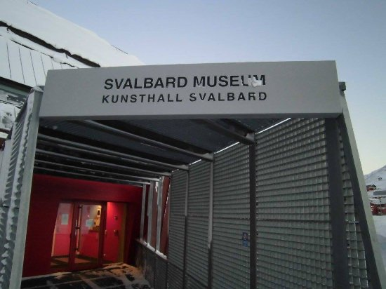 Svalbard Museum: main entrance