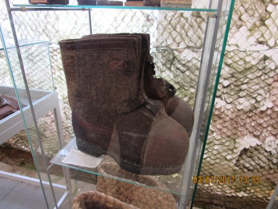 Gierloz, Poland: Filcowe buty wartownicze