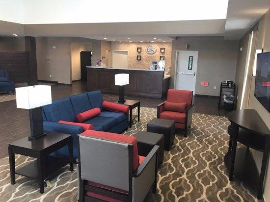 Kyle, TX: Lobby seating area