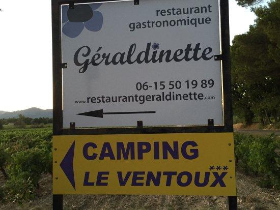 Mazan, França: Heerlijk eten. Geen 'vakantie voer' maar echt lekker eten. Ook prachtig en stijlvol opgediend. A