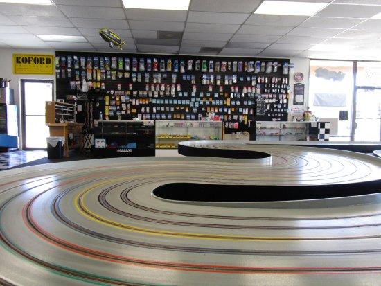 Santa Clarita, CA: Inside the raceway