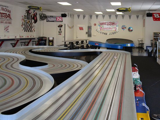 Santa Clarita, Californie : Inside the raceway