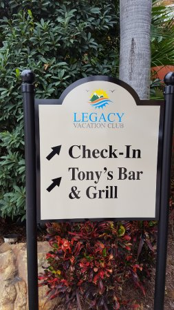 "Legacy Vacation Resorts: My official ""start of vacation"" photo!"