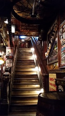 Fanny Ann's Saloon: note: there's no ramps, so be careful
