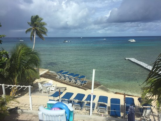 Coral Sands Resort: View from the room