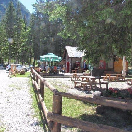 "Fusine in Valromana, إيطاليا: bar ""i 7 nani"""