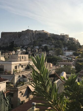 Electra Palace Athens: Blick vom Dachpool