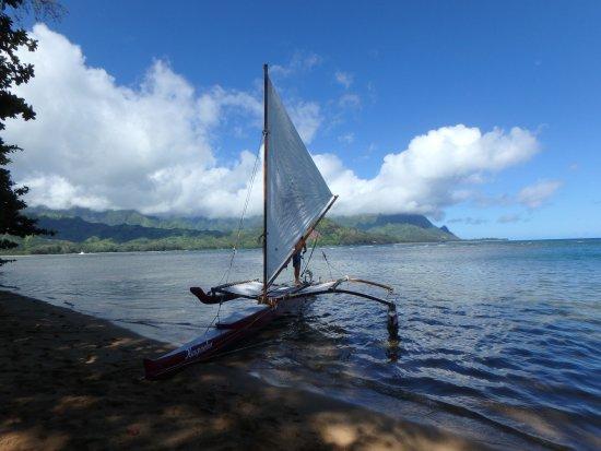 Island Sails Kaua'i: Hawaiian Sailing Canoe