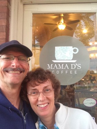 Wales, WI: Visiting Mama D's for our 33rd anniversary