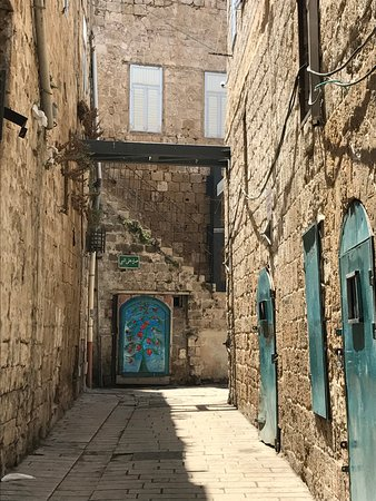 Acre, Israel: Walk through the narrow streets of the walled city.