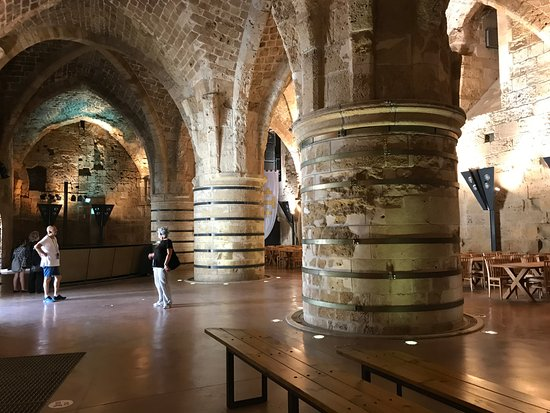 Acre, Israel: Inside the Knights' Hall
