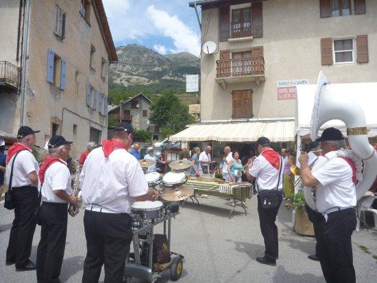 Thorame-Haute, Francia: Fete d'anniversaire