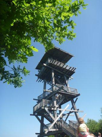 Zutendaal, Bélgica: Viewing tower