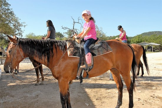 Mayan Dude Ranch: Horse rides are twice a day and average 40-45- minutes