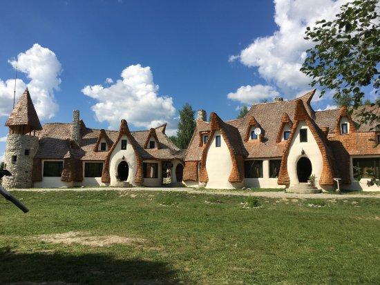Porumbacu de Sus, Romania: front view