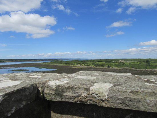 Оранмор, Ирландия: View from the top of the castle