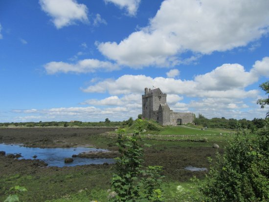 Oranmore, Irlanda: Another view as you approach castle